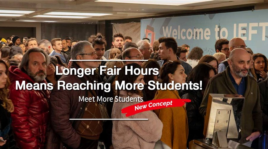 Longer Fair Hours Means Reaching More Students!