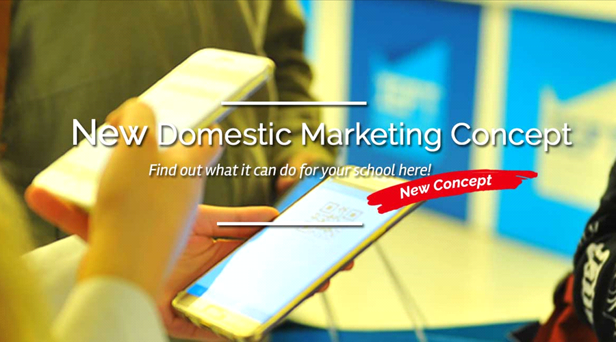 New Domestic Marketing Concept - Find out what it can do for your school here!