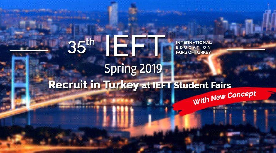 35th IEFT Turkey Fairs Spring 2019